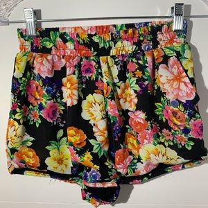 Floral Fashion Shorts